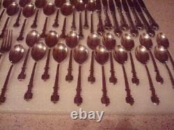 1847 Rogers Bros Silverware Set Reflection Pattern 65 Pieces