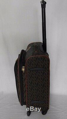 22 SPINNER CARRY ON LUGGAGE ROLLING WHEELED 4 PIECE SUITCASE SET NX XN Pattern