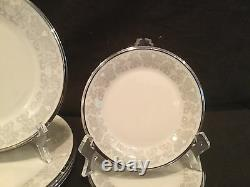 23 Piece China Set By Lenox In The Snow Lily Pattern Dinner Salad Bread Cup