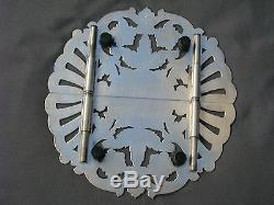 3 piece Ornate Old Reed & Barton Hampton Court pattern Sterling Silver Tea Set