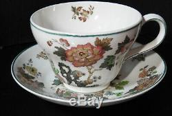 34 Piece Wedgwood Eastern Flower Pattern China Five 5 Piece Place Settings