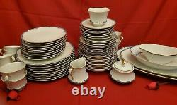 66 piece China Set, Imperial Baroness (Japan) pattern code IMPBAR 10 place set