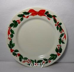 ARCOPAL France HOLLY RIBBON & BERRIES ARP9 pattern 48-piece SET SERVICE for 12