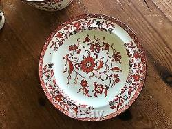 Antique Wedgwood Dining Set Japan Pattern Circa 1882 MUSEUM PIECE EXCEPTIONAL