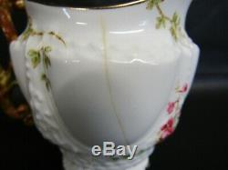 Aynsley 1652 Hand Painted Floral Pattern 9 Piece Tea Set Dated C1891