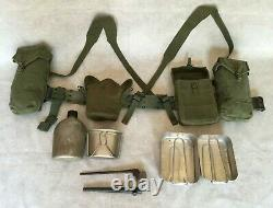 CANADIAN ARMY 51 PATTERN WEBBING SET (14 pieces)