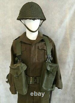CANADIAN ARMY 51 PATTERN WEBBING SET (17 pieces)
