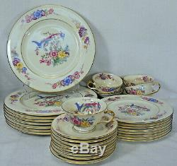 CASTLETON china VENETIAN pattern 31-piece SET SERVICE for Eight (8) less 1 cup