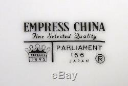 EMPRESS Japan china PARLIAMENT pattern 55-piece SET SERVICE for 8 with Serving