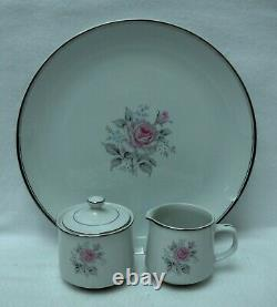 EMPRESS Japan china ROSETTA pattern 66-piece SET SERVICE for 12 with Serving