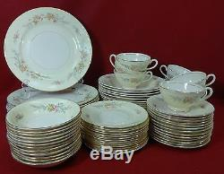 HOMER LAUGHLIN china CASHMERE G3391 pattern 72-Piece SET SERVICE for Twelve (12)
