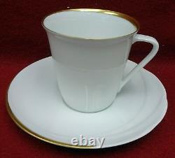 HUTSCHENREUTHER china MONDIAL pattern 5-piece Place Setting with 10-1/4 dinner