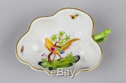 Herend Pheasant Pattern Tete a Tete Coffee Set for Two Persons, 9 Pieces