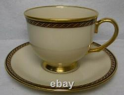 LENOX china MONROE pattern 59-piece SET SERVICE for 12 less 1 bread plate
