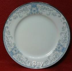 LENOX china WHITE HEATHER pattern 50-piece SET SERVICE for 12 less 6 c/s sets