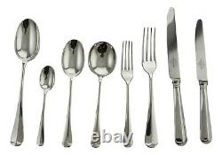 MAPPIN & WEBB Cutlery RATTAIL Pattern 60 Piece Canteen Set for 8 Persons