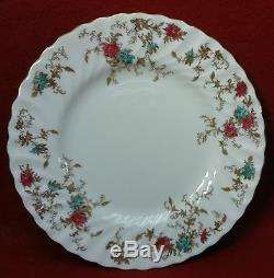 MINTON china ANCESTRAL S376 pattern Wreath 47-piece SET SERVICE for Twleve (12)