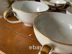 Meito Norleans China Midas Pattern Occupied Japan 86 PIECE SET RARE 12 SETTINGS