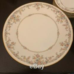 NORITAKE china GALLERY 7246 pattern 58-piece SET SERVICE for 8