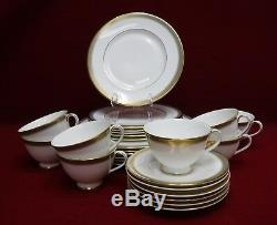 ROYAL DOULTON china CLARENDON H4993 pattern 26-piece Set Service for SIX (6)