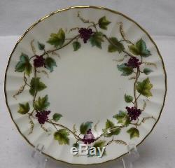 ROYAL WORCESTER china BACCHANAL Cream pattern 60-piece SET SERVICE for 12