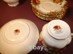 Royal Albert Old Country Roses Pattern, Tea Set 21 Pieces