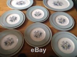 Royal Worcester Woodland Pattern (34 Piece Dinner Set 1st Quality)