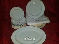 SET OF CROWN VICTORIA CHINA LOVELACE PATTERN MADE IN JAPAN 68 pieces