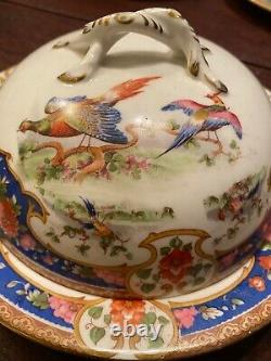 SET OF VERY RARE OLD SEVRES pattern with UNBELIEVABLY RARE PIECES, by SHELLEY