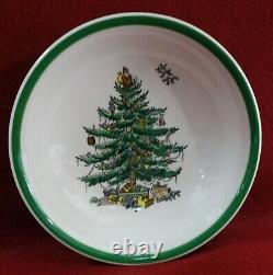 SPODE England CHRISTMAS TREE Made in Engalnd Pattern 58-piece SET SERVICE