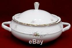 THUN/BAUM BROTHERS china ROSEBUD pattern 62 Piece Set cup/dinner/bread/soup/bowl