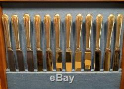 Tuttle Sterling Silver Flatware Set Hannah Hull Pattern 77 Pieces