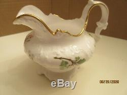 Vintage Gorgeous Copeland 10 Piece Tea Set With Tray, Pattern, Xclnt Condition