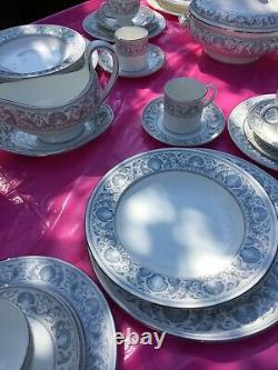 Wedgwood Dolphins Pattern 70 Piece Dinner Service. 8 Settings