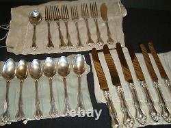 Westmorland Sterling Silver place setting 20 pieces George + Martha pattern